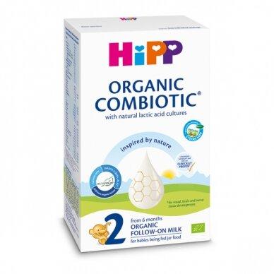 BIO HiPP 2 Combiotic tolesnio maitinimo pieno mišinys kūdikiams