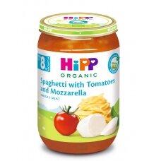 """Ekologiška tyrelė """"Spageti su pomidorais ir mocarela"""""""