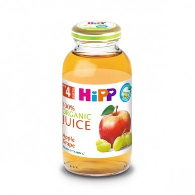 Ekologiškos obuolių ir vynuogių sultys