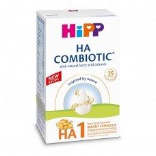 HiPP HA1 Combiotic® pradinio maitinimo hipoalerginis mišinys kūdikiams nuo gimimo