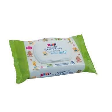 HiPP Baby Sanft Drėgnas tualetinis popierius