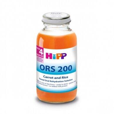 HiPP ORS200 Morkų-ryžių nuoviras