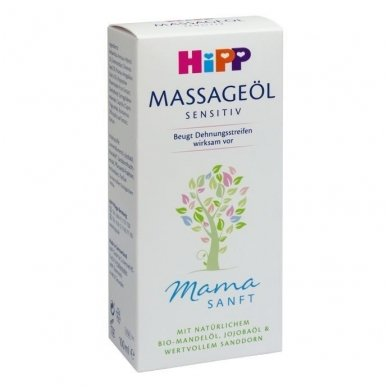 MamaSanft masažo aliejus